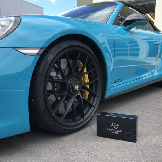 Opti coat porsche gts blue ceramic coating