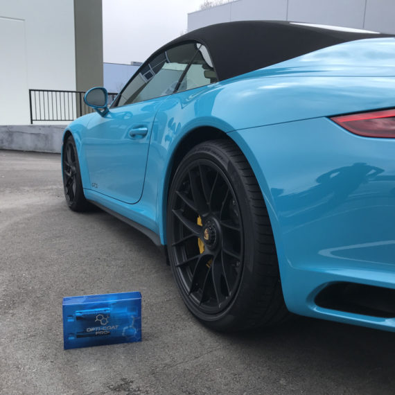 8 porsche gts blue ceramic coating