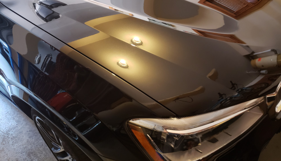 Mobile detailing example by Gleamworks Detailing in Vancouver BC