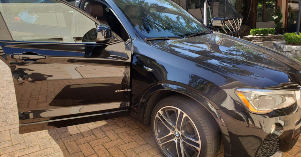 Gleaming, flawless finish after mobile detailing