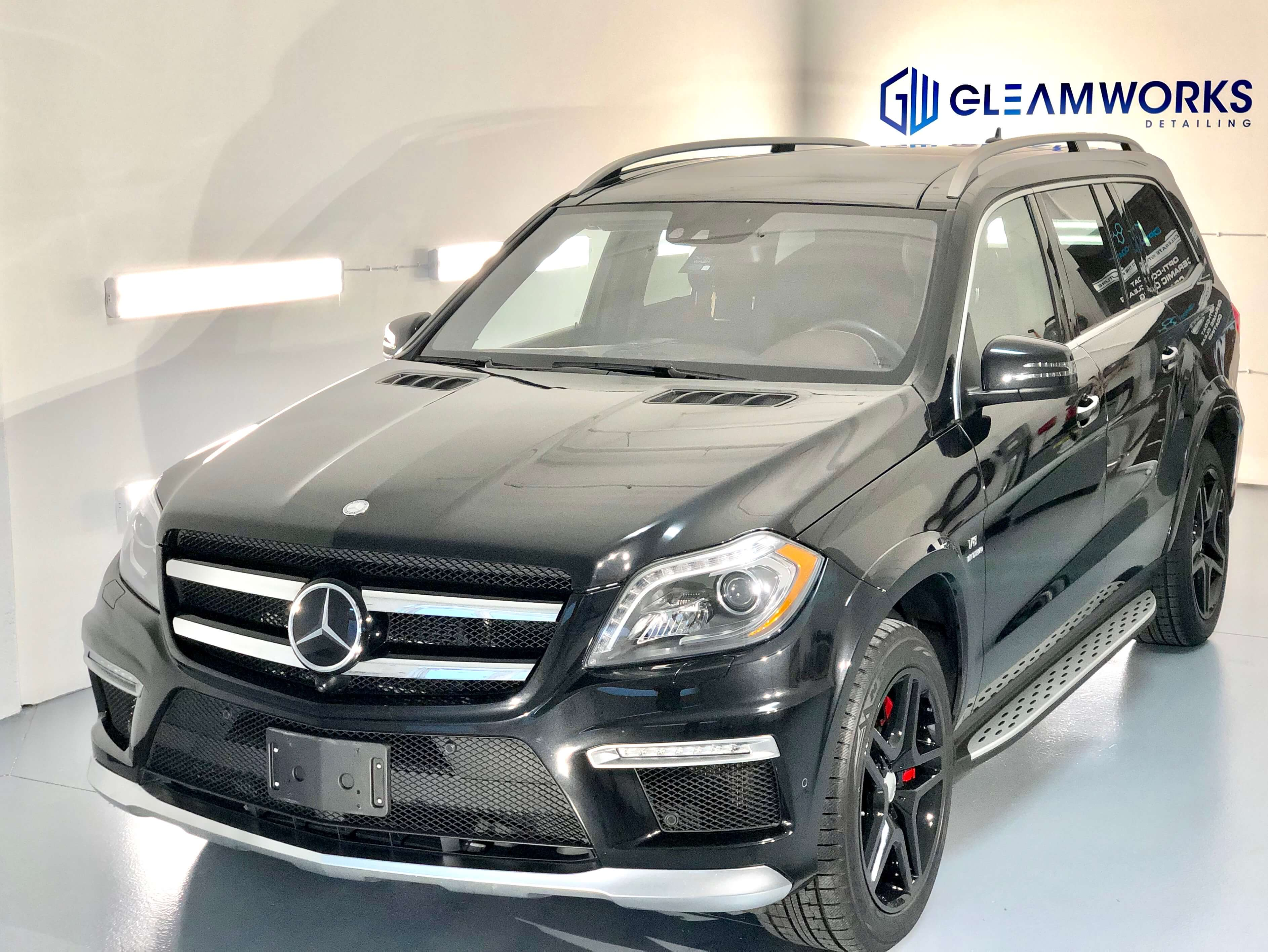 Mercedes GL-Class with Paint Protection Film -