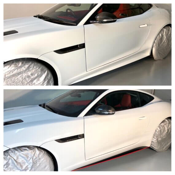 Jaguar Paint Protection By Gleamworks