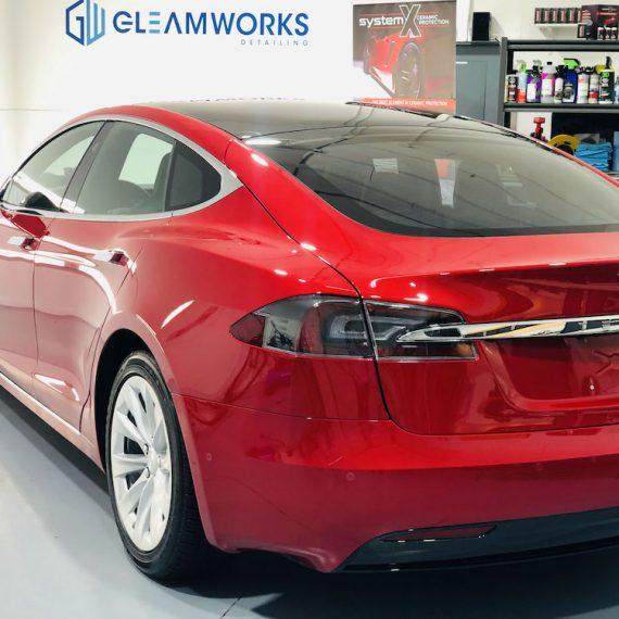 Tesla Model 3 Opti-Coat Ceramic Coating   Gleamworks Detailing
