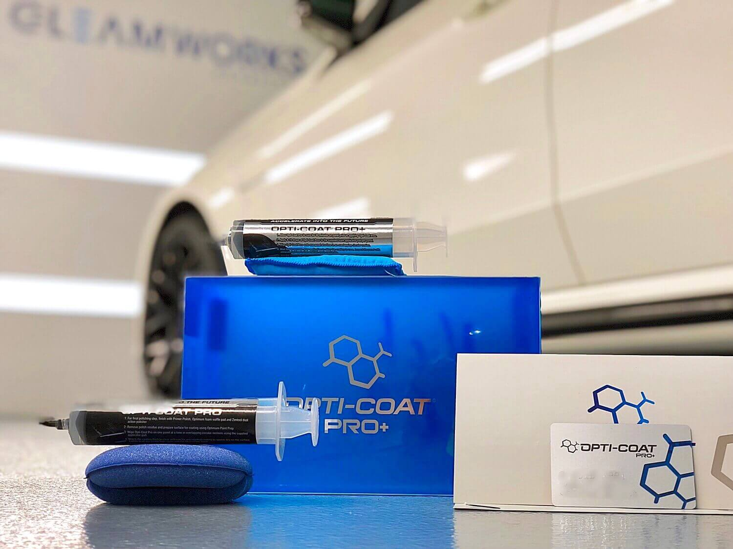 Opti Coat Ceramic Coating Pro Kit Available At Gleamworks Detailing in Vancouver