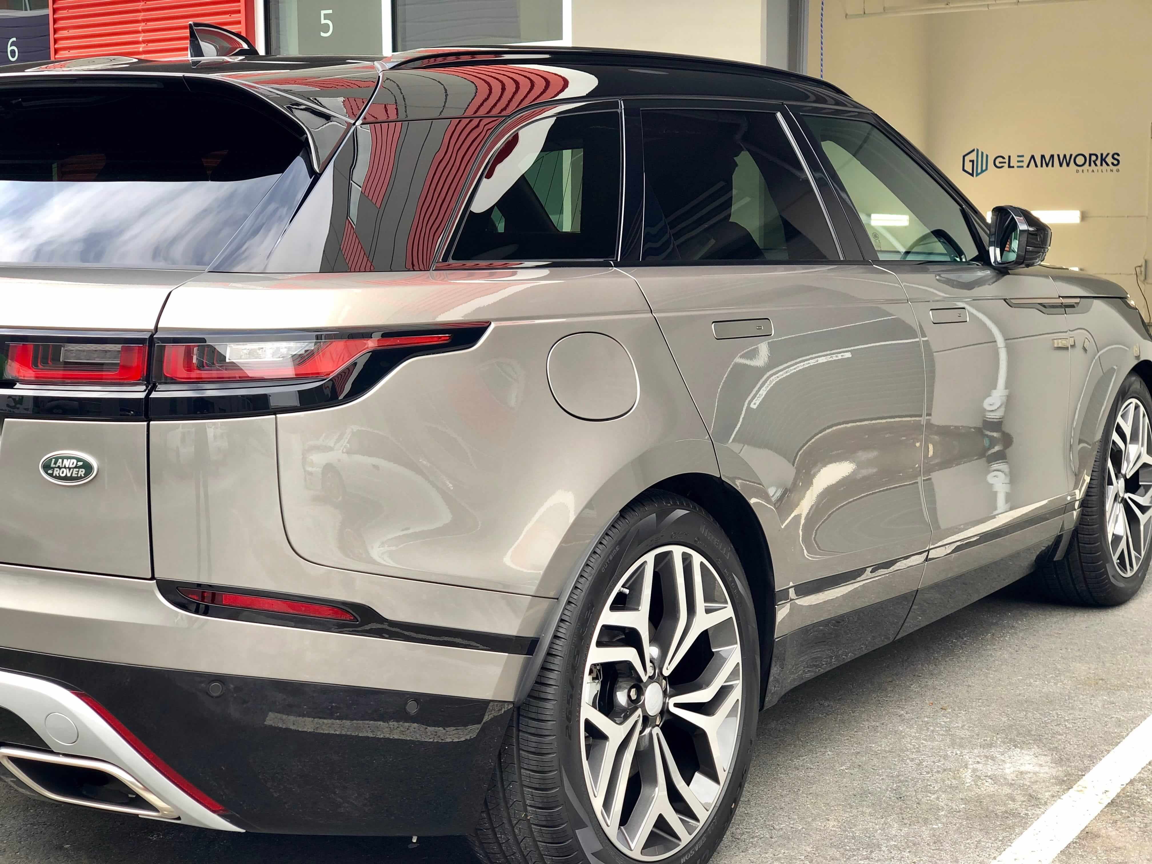 Range Rover with ceramic coating from Gleamworks Detailing