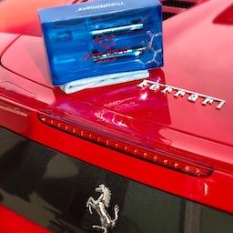 Paint correction Ferrari