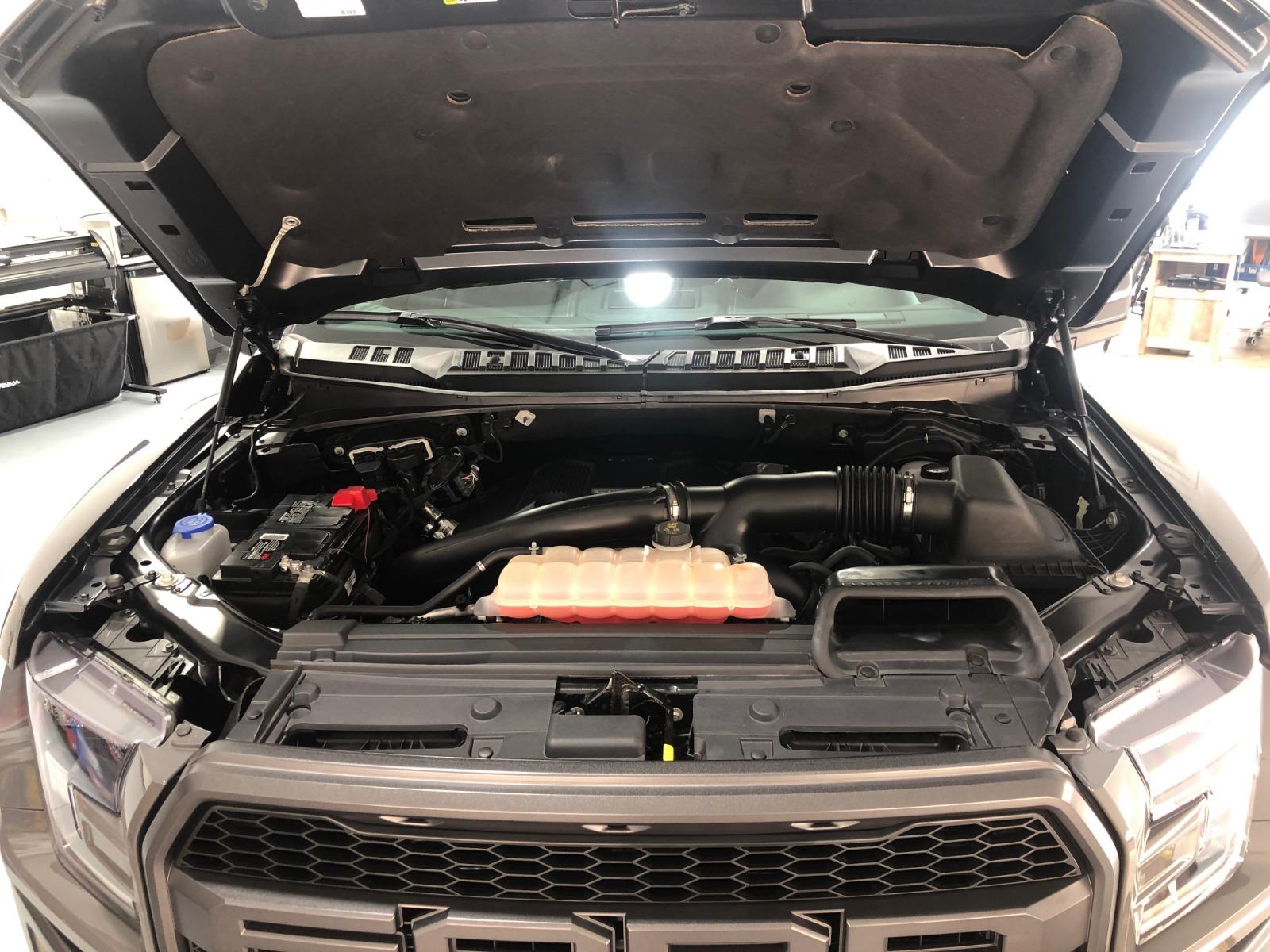 2 - Grey Ford F-150 Raptor Auto Detailing